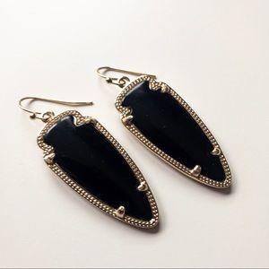 Kendra Scott Black Skylar Earrings